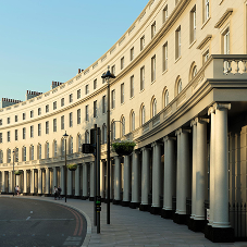 Iconic Grade I listed Nash Terrace restored with Schöck wrapped parapets