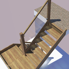 H&S Joinery work with client to produce perfect bespoke staircase