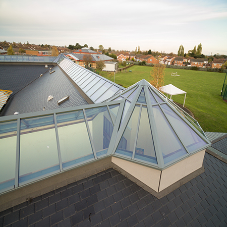 Xtralite rooflight solutions bring natural light to Abbey Hill Academy