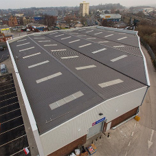 A challenging roof installation for Langley approved contractors