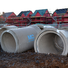 FP McCann's Precast Drainage Products utilised on Magherafelt based Housing Development