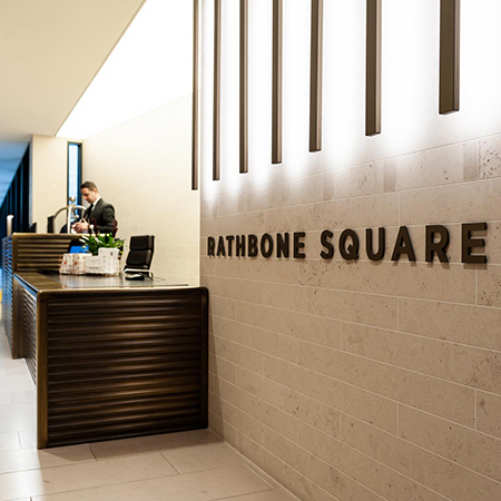 xsign package for plush Rathbone Square estate