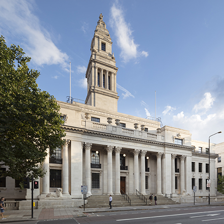 Steel windows for beautiful Old Marylebone Town Hall