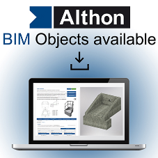 Althon's BIM objects are now available to download