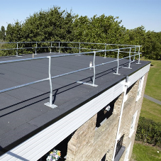 New roof and balcony walkways for Nursery Close estate