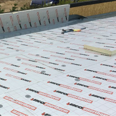How long will a single ply membrane flat root system last?