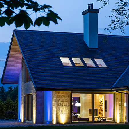 CUPA HEAVY 3 natural slate in award-winning country house