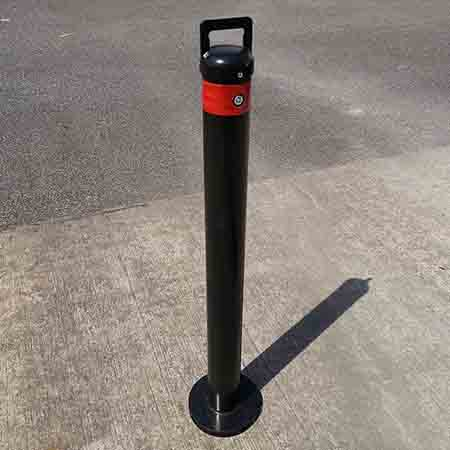 Introducing Macs Automated Bollard Systems removable Bollards!