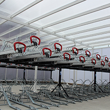 Cyclepods provide cycle storage for Southern Rail
