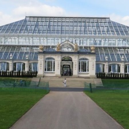 Titan Steel Edging at world famous Kew Gardens