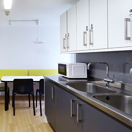 JT Ellis specify Franke for student kitchen project