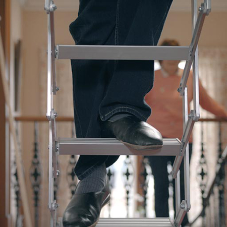 Ecco loft ladder steps up to the challenge for Fife homeowners