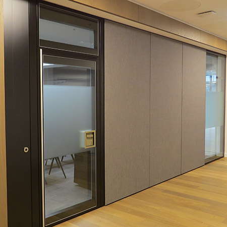 Style upgrades law firm's partitions once again!