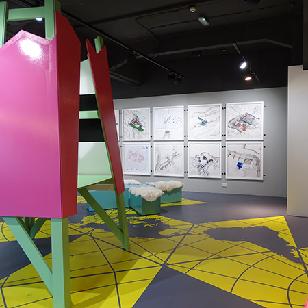 MEDITE PREMIER MDF for Contemporary Cartography at the Building Centre