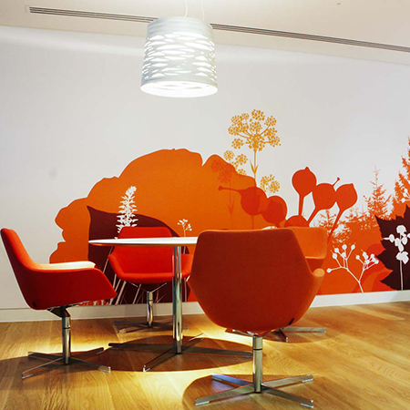 Using Artwork to Brand Interior Spaces [BLOG]