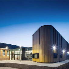 Newport Girls High School is given a new modern look