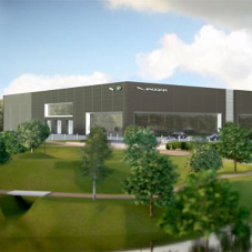 New Jaguar Land Rover Showroom in development
