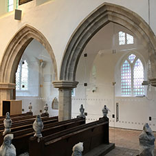 'Divine' glass partitioning for St Mary's Church