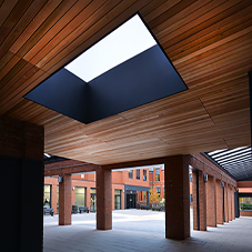 Rooflight solutions support Holy Cross College upgrade