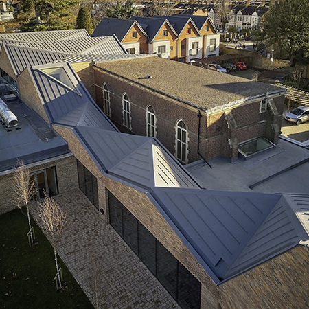 Sika roof detail enhances character of new church roof