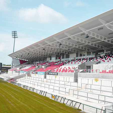 Ravenhill Stadium chooses Franke Urinals and Washtroughs