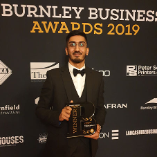 Khaleel Mahmood named Young Employee of the Year