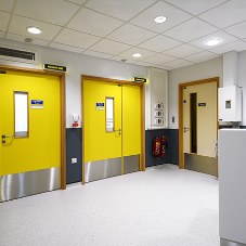 Ahmarra Door Solutions for healthcare facilities