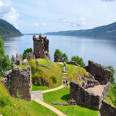 GripDeck anti-slip decking installed at historic Urquhart Castle