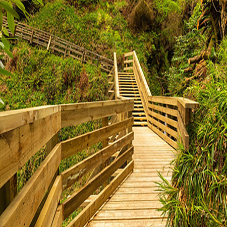 Walkway and bridge created for Isle of Man walking trail