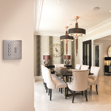 Hamilton provides smart lighting control for stunning Dubai-styled property