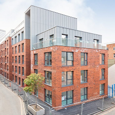 BA Systems provide stunning new balconies for Halo Apartments