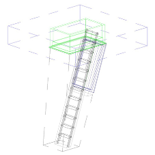 New range of BIM objects released by Premier Loft Ladders
