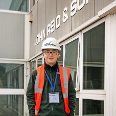 Sixth former designs own building with REIDsteel