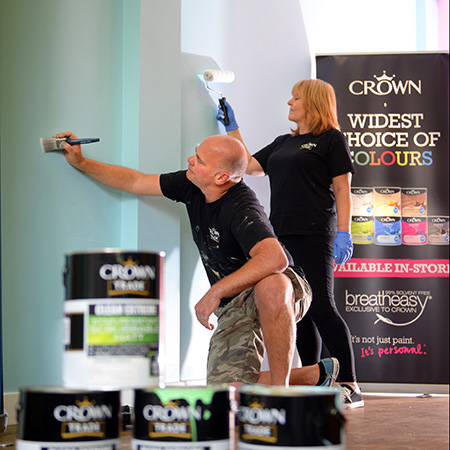 Crown Paints add colour to Blackburn homelessness charity