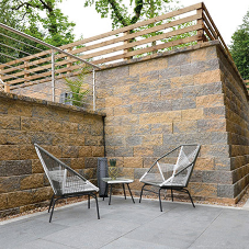 Tobermore discuss alternatives to unsightly gabion walls