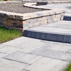 What is the best walling product to complement paving?