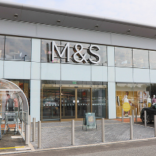 Pilkington welcome customers to M&S store in their own home town