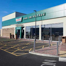 Peterborough's Krispy Kreme is given clean, bright exterior