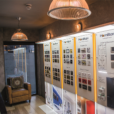 Hamilton have opened a new showroom in Cannon Street, Central London