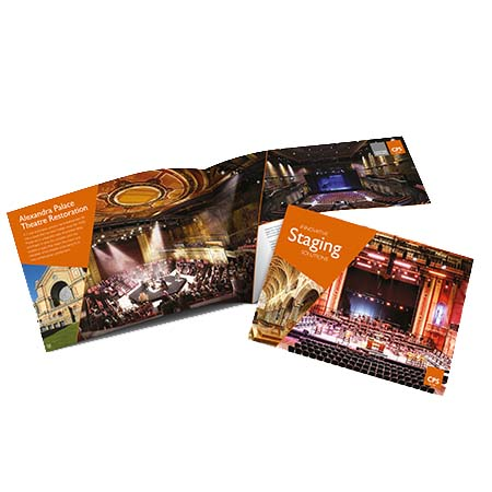 New innovative staging solutions brochure launched