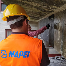 Mapei strengthens expectations in University of Essex structural repair