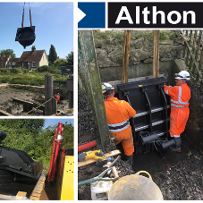 Althon offer fish and eel friendly flap valves