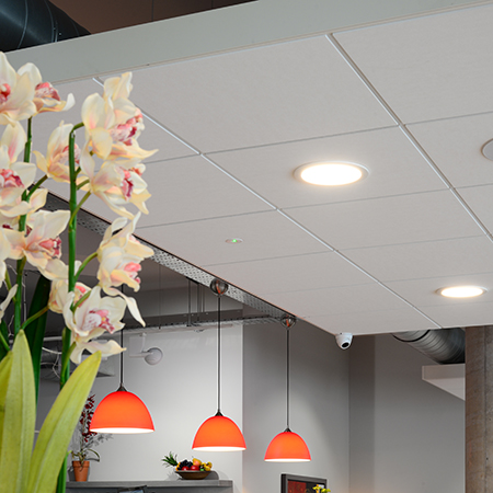 Armstrong's Perla ceiling picked for restaurant acoustics