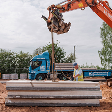 Thermabeam™ provides solid foundations for new homes in Derbyshire