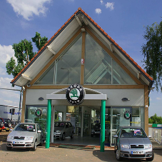 Brimet provide tile support for Skoda showroom