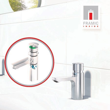 Franke Water Systems launch first ceramic self-closing cartridge