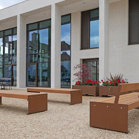New furnishings allow staff and pupils to sit and relax at Downe House