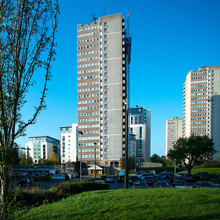Sika concrete repair solution for Tower Block Refurb
