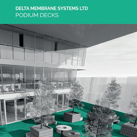 Delta Membrane Systems launch new Podium Deck Brochure