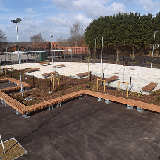 Broxap have provided practicality and modernity to this new academy